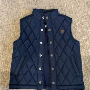 Janie and Jack Boys Quilted Vest